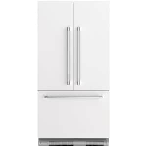 Fisher Paykel Professional (Formerly DCS) 72-Inch Panel-Ready Built-In French Door Refrigerator - RS36A72J1 N image