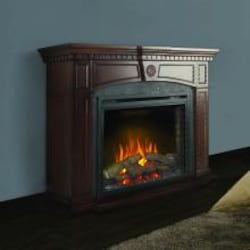 Napoleon Harlow 55-Inch Electric Fireplace Mantel Package with 33-Inch Ascent Firebox - Mahogany - NEFP33-0114M image