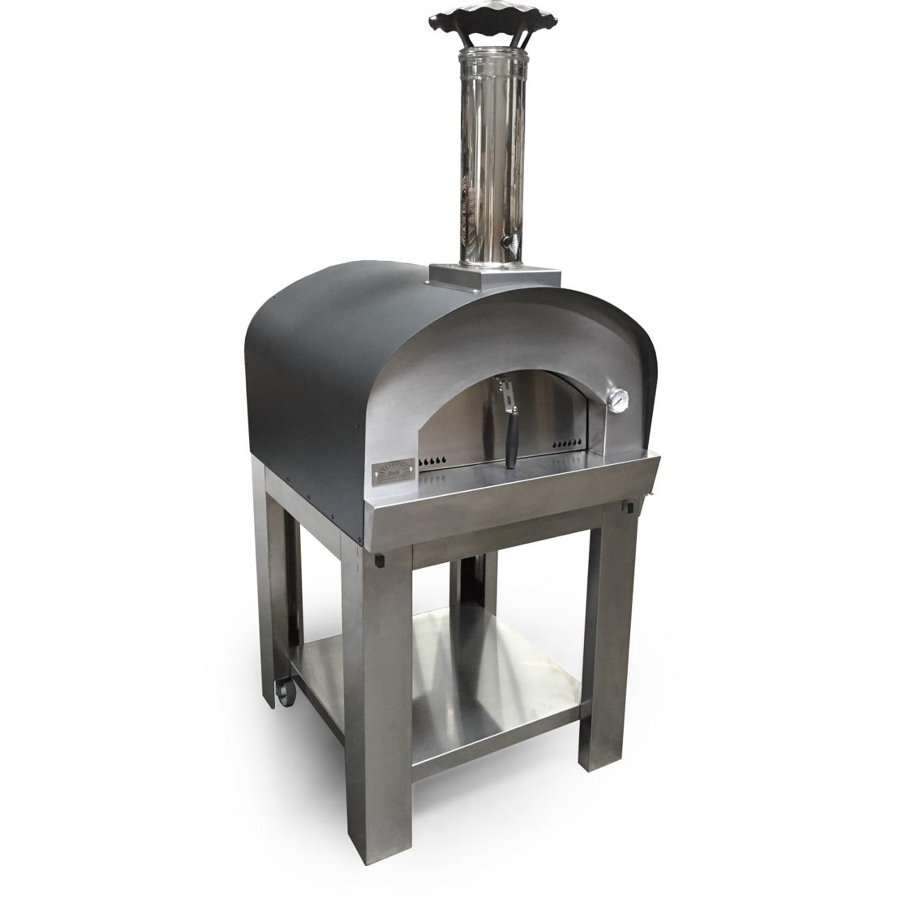 Sole Gourmet Italia 24 Inch Outdoor Wood Fired Pizza Oven Bbqguys