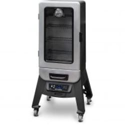 Pit Boss Silver Star 3 Series 21-Inch Vertical Digital Electric Smoker w/ Window - 77232 image