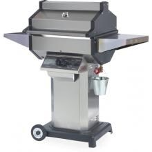 Phoenix SDSSOCN Stainless Steel Natural Gas Grill Head On Stainless Steel Pedestal Cart With Aluminum Base image