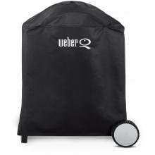 Weber Q 6552 Premium Grill Cover For Q 200 & Q 220 On-Cart Gas Grills