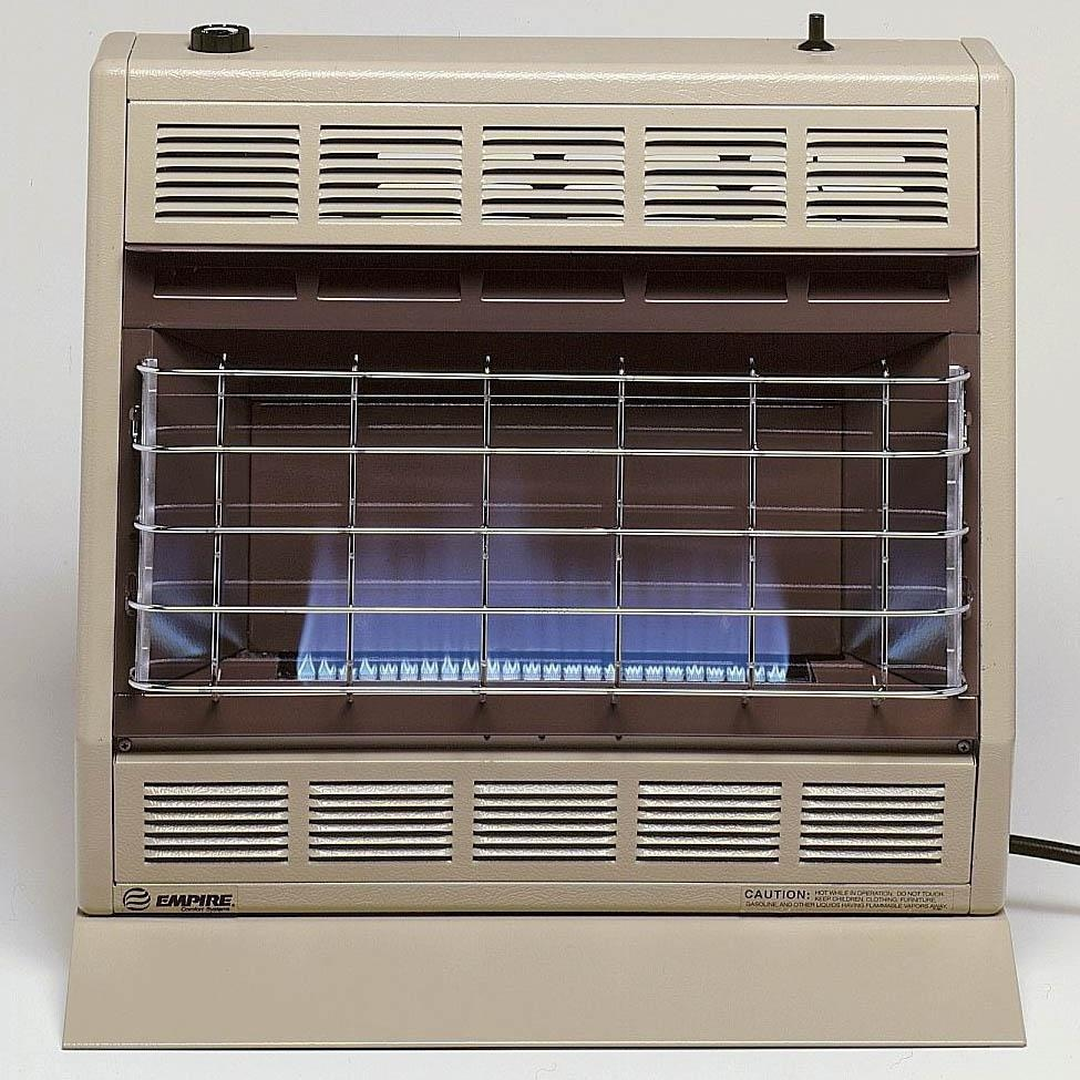Gas Heater Install Ventilation Requirements : Empire btu blue flame vent free propane heater
