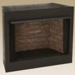 Monessen GRUF36C-F 36-Inch Radiant Face Circulating Vent-Free Firebox With Cottage Clay Firebrick image