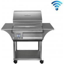 Memphis Grills Advantage Wi-Fi Controlled 26-Inch 430 Stainless Steel Freestanding Pellet Grill - VG0050S4 image