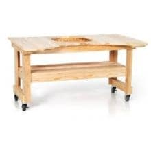 Primo Curved Cypress Table For Oval XL Primo Curved Cypress Table For Oval XL