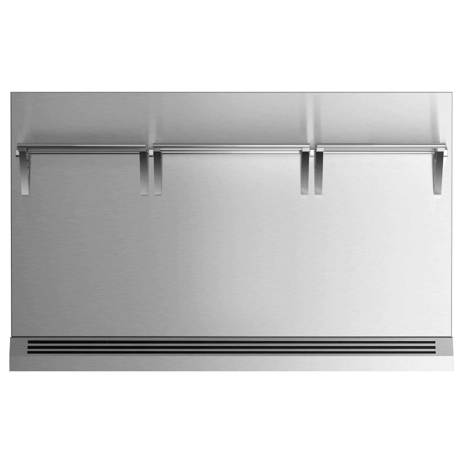 - Fisher Paykel 48-Inch Stainless Steel Range Backguard For