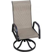 Madison Bay Sling Patio Swivel Rocker Dining Chair By Lakeview Outdoor Designs