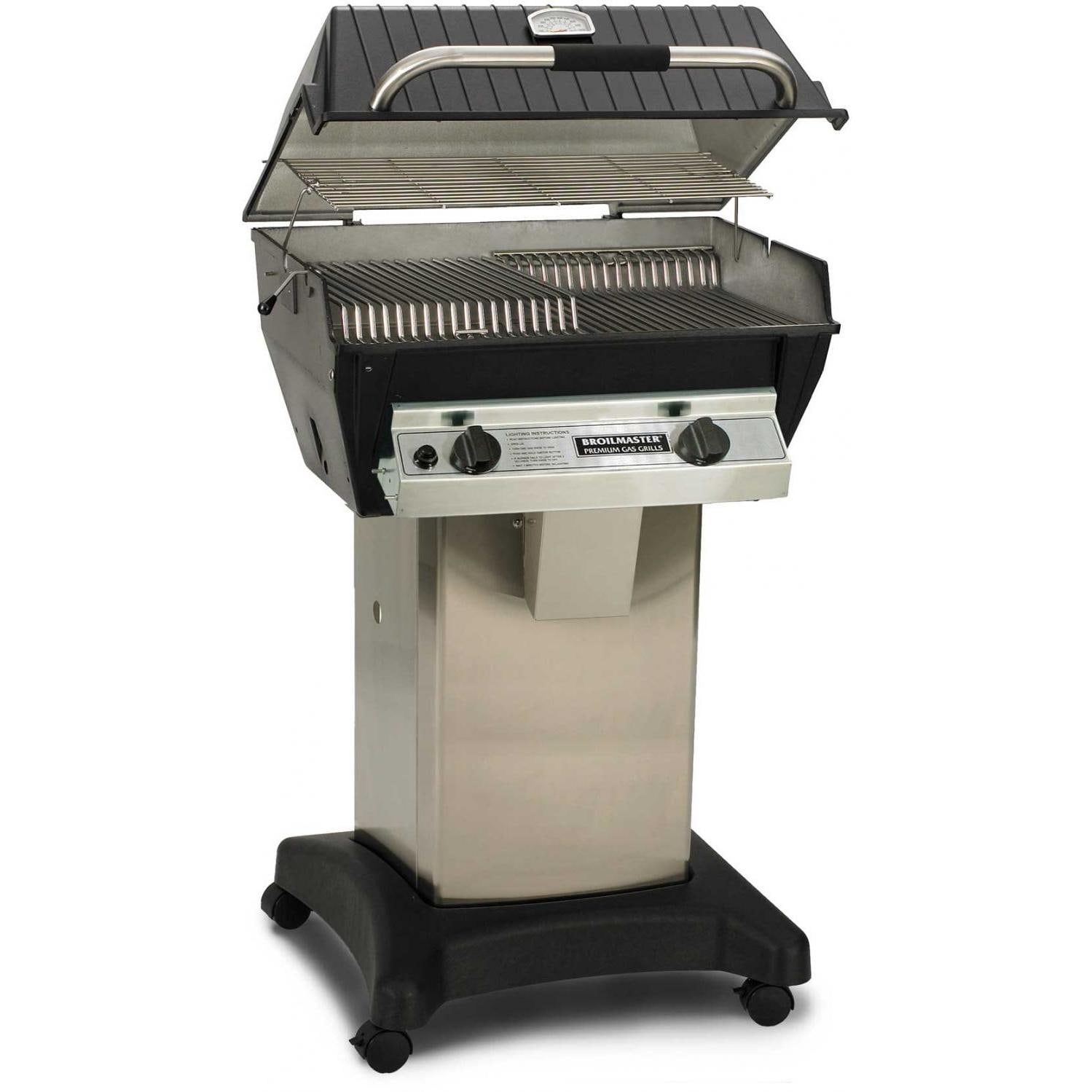 broilmaster r3 infrared propane gas grill on stainless. Black Bedroom Furniture Sets. Home Design Ideas