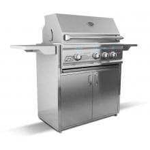 RCS Cutlass Pro 30-Inch Natural Gas Freestanding Grill - RON30A-NG Side View