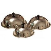 Evo Stainless Cooking/Steamer Covers - Set Of 3
