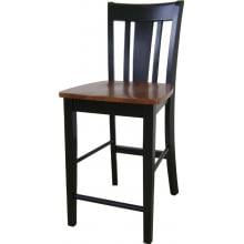 International Concepts Dining Essentials Shaker Styled Dining Set - T57-3048GS S57-102 (4) Chair View