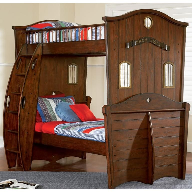 Powell Furniture Shiver Me Timbers Twin Size Bunk Bed Ships In 3