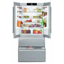 Liebherr 18.8 Cu. Ft. French Door Refrigerator - Stainless Steel - CS-2062