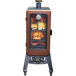 Pit Boss 77350 Copperhead 3 Series 25-Inch Vertical Pellet Smoker w/ Window image