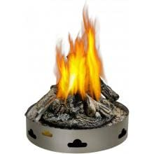Napoleon Patioflame 60,000 BTU Natural Gas Fire Pit Burner With Logs