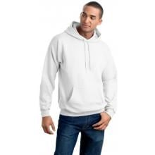 Hanes Ultimate Cotton Hooded Pullover Sweatshirt Large - White image