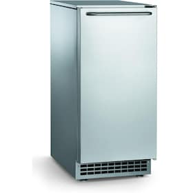 Ice-O-Matic 85 Lb. Outdoor Ice Maker With Gravity Drain - Stainless Steel - GEMU090