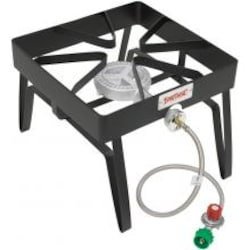 Bayou Classic Stoves With Low Pressure Gas Burner Black Outdoor Stove image