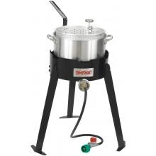Bayou Classic Stoves Aluminum Fish Cooker With High Pressure Outdoor Stove image