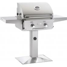 American Outdoor Grill L-Series 24-Inch 2-Burner Propane Gas Grill On Pedestal - 24PPL-OOSP American Outdoor Grill L-Series 24-Inch 2-Burner Freestanding Propane Gas Grill On Pedestal - 24PPL-OOSP