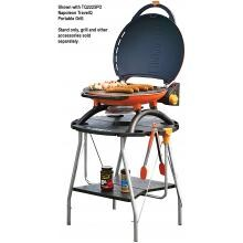 Napoleon TravelQ Portable Stand Napoleon TravelQ Portable Stand - Shown with Grill and Food