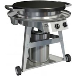 Evo Professional Classic Wheeled Cart Flattop Propane Gas Grill image