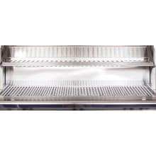 PGS Legacy Newport 30-Inch Built-In Propane Gas Grill Stainless Steel Warming Rack and Cooking Grids