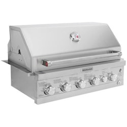 Kitchenaid 36 Inch Built In Propane Gas Grill With Searing