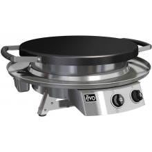 Evo Professional Classic Tabletop Flattop Propane Gas Grill With Ceramic Cooking Surface Evo Professional Classic Tabletop Flattop Propane Gas Grill With Ceramic Cooking Surface