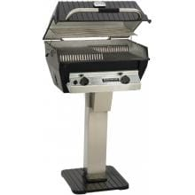 Broilmaster R3B Infrared Combination Propane Gas Grill On Stainless Steel Patio Post image