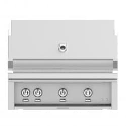 Hestan 36-Inch Built-In Propane Gas Grill W/ All Infrared Burners & Rotisserie - Steeletto - GSBR36-LP-SS image