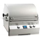 Fire Magic Aurora A430i 24-Inch Built-In Natural Gas Grill With One Infrared Burner And Rotisserie - A430i-6L1N