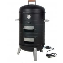Aussie Electric Smokers By Meco - 5030 Electric Smoker And Grill - Black