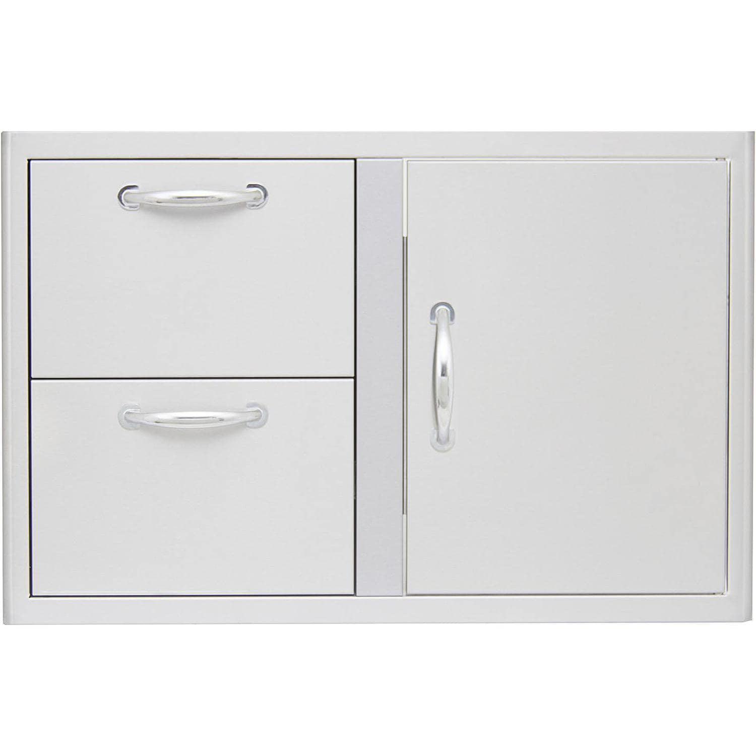 Blaze Outdoor Products Blaze  32-Inch Access Door and Stainless Steel Double Drawer Combo BLZ-DDC-R