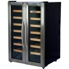 NewAir 32 Bottle Freestanding Dual Zone Thermoelectric Wine Cooler - AW-321ED