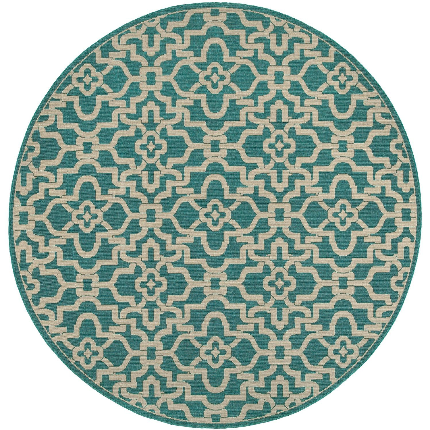 Tommy Bahama Seaside 7 10 Ft Round Indoor Outdoor Rug By