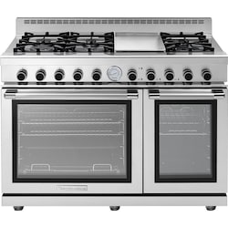 216aad64ff0 Tecnogas Superiore 48-Inch NEXT Panorama Natural Gas Range With 6 Burners    Griddle -