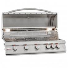 Blaze LTE 40-Inch 5-Burner Built-In Natural Gas Grill With Rear Infrared Burner & Grill Lights - BLZ-5LTE2-NG