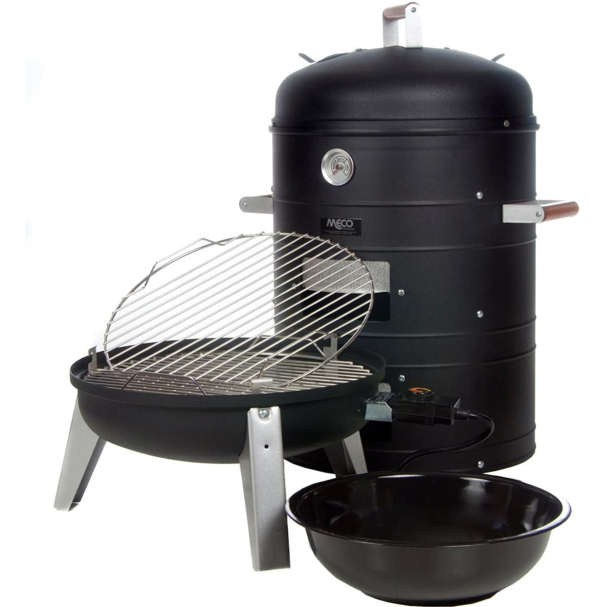 southern country 2 in 1 electric water smoker grill bbq guys. Black Bedroom Furniture Sets. Home Design Ideas