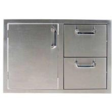 Outdoor GreatRoom Company 30 Inch Access Door & Double Drawer Combo Unit image