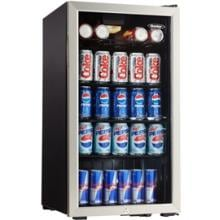 Danby 3.3 Cu. Ft. Beverage Cooler - Stainless Steel - DBC120BLS