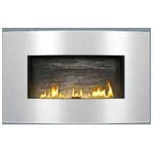 Napoleon S31CVSS Convex Fireplace Surround - Brushed Stainless Steel