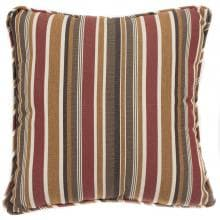Sunbrella Brannon Redwood Outdoor Throw Pillow W/ Piping By Lakeview Outdoor Designs - 18 X 18 image