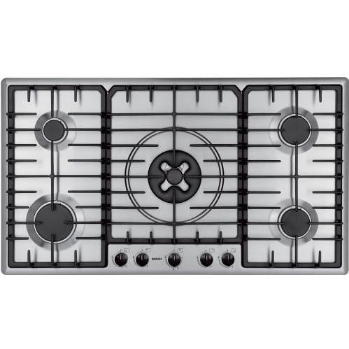 Bosch Gas Cooktop, 36 Inch - Stainless Steel