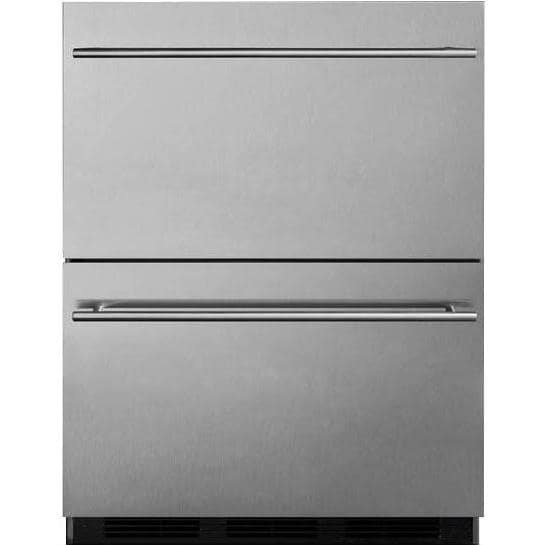 Summit Commercial 24-Inch 3.1 Cu. Ft. Outdoor Rated Refri...