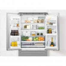 DCS 36-Inch Wide 70-Inch Tall  Freestanding French Door Refrigerator With Water Dispenser - RF201ACUSX1 DCS 36-Inch Freestanding Refrigerator Compartment