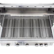 Blaze LTE 40-Inch 5-Burner Built-In Natural Gas Grill With Rear Infrared Burner & Grill Lights - BLZ-5LTE2-NG Blaze Stainless Steel Cooking Grid - Shown in Grill