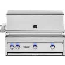 Lynx Professional 36-Inch All Infrared ProSear Built-In Natural Gas Grill with Rotisserie - L36ASR-NG Lynx 36-Inch All Trident ProSear Built In Gas Grill With Rotisserie