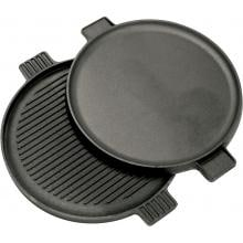 Bayou Classic Griddles 14-Inch Reversible Round Cast Iron Griddle - 7414 image